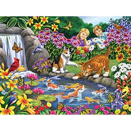 Go Fish 300 Large Piece Jigsaw Puzzle