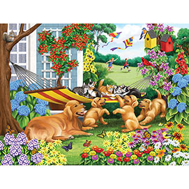 Let's Share The Hammock 500 Piece Jigsaw Puzzle