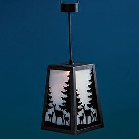 Color Changing Woodland Deer Lantern