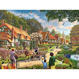 Rural Life 500 Piece Jigsaw Puzzle