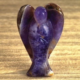 Divine Angel Amethyst Figurine
