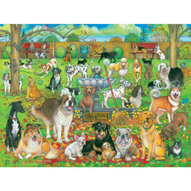 Dog Park Pals 1000 Piece Jigsaw Puzzle