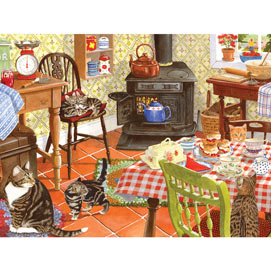 Scones For Tea 300 Large Piece Jigsaw Puzzle