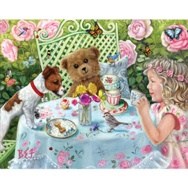 Tito's Tea Party 500 Piece Jigsaw Puzzle
