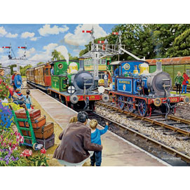 The Bluebell Railway 300 Large Piece Jigsaw Puzzle