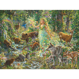 Mother Nature's Magic 300 Large Piece Jigsaw Puzzle