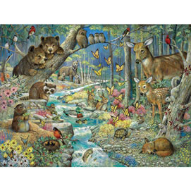 Spring Babies 1000 Piece Jigsaw Puzzle
