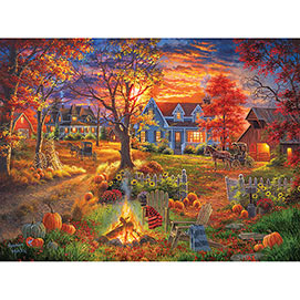 Autumn Village 1000 Piece Jigsaw Puzzle