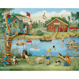 Boys' Fun 500 Large Piece Jigsaw Puzzle