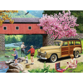 Our Favorite Spot 300 Large Piece Jigsaw Puzzle