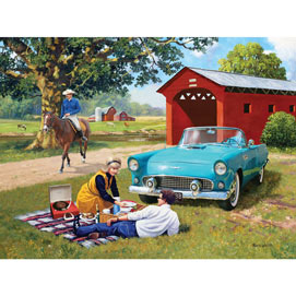 T Bird Summer 300 Large Piece Jigsaw Puzzle