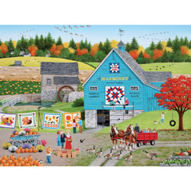 Bountiful Harvest 1000 Piece Jigsaw Puzzle