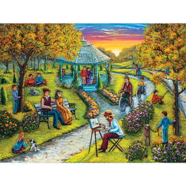 Autumn In The Park 500 Piece Jigsaw Puzzle