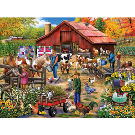 Feeding Time 300 Large Piece Jigsaw Puzzle