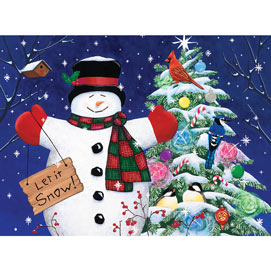 Let It Snow 300 Large Piece Jigsaw Puzzle