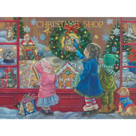 Christmas Blessing 300 Large Piece Jigsaw Puzzle