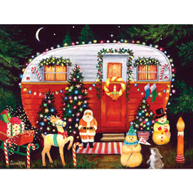 A Very Happy Merry 300 Large Piece Jigsaw Puzzle
