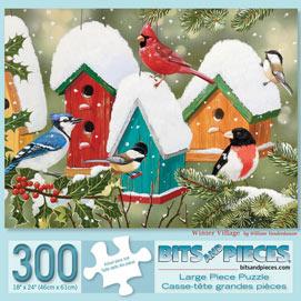 Winter Village 300 Large Piece Jigsaw Puzzle