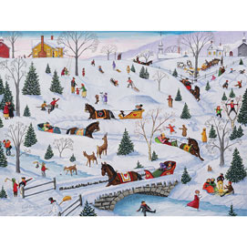 Sleigh Carnival 1000 Piece Jigsaw Puzzle