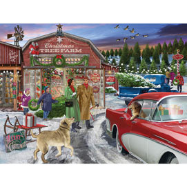 Tree Farm 500 Piece Jigsaw Puzzle