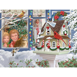 A Home For Christmas 500 Piece Jigsaw Puzzle
