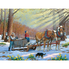 Sweetness And Light 500 Piece Jigsaw Puzzle