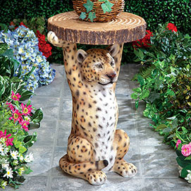 Wild Leopard Table