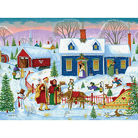 Jolly Visitors 300 Large Piece Jigsaw Puzzle