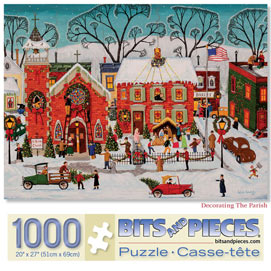 Decorating the Parish 1000 Piece Jigsaw Puzzle