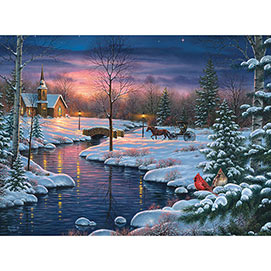 Holy Night 300 Large Piece Jigsaw Puzzle