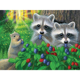 Little Berry Babies 500 Piece Jigsaw Puzzle