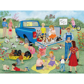 Adopt A Puppy Today 1000 Piece Jigsaw Puzzle