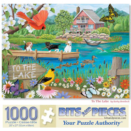To The Lake 1000 Piece Jigsaw Puzzle