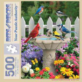 Summer Garden Friends 500 Piece Jigsaw Puzzle