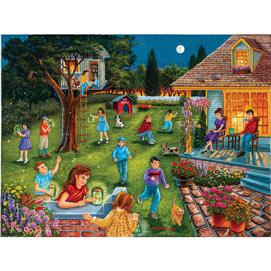 Catching Fireflies 500 Piece Jigsaw Puzzle