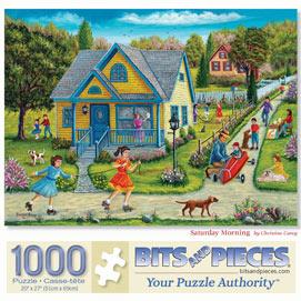 Saturday Morning 1000 Piece Jigsaw Puzzle