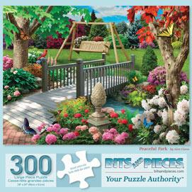 Peaceful Park 300 Large Piece Jigsaw Puzzle