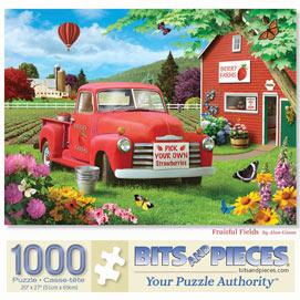 Fruitful Fields 1000 Piece Jigsaw Puzzle