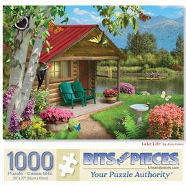 Lake Life 1000 Piece Jigsaw Puzzle