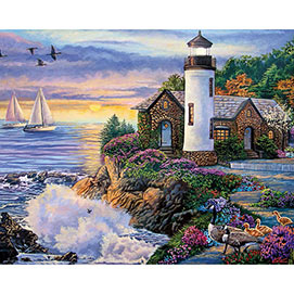 Perfect Dawn 300 Large Piece Jigsaw Puzzle
