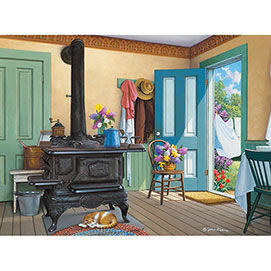 Fresh Air 300 Large Piece Jigsaw Puzzle