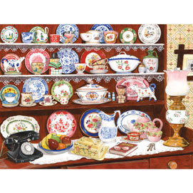 Grandma's China 300 Large Piece Jigsaw Puzzle