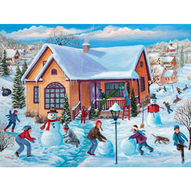 December Memories 300 Large Piece Jigsaw Puzzle