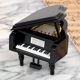 Memories Grand Piano Music Box