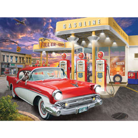 Fill'er Up 500 Piece Jigsaw Puzzle