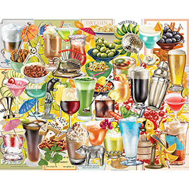 Happy Hour 500 Piece Collage Puzzle