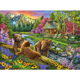 Nap Time Is Over 300 Large Piece Jigsaw Puzzle