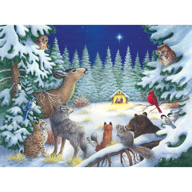 Forest Manger 1000 Piece Jigsaw Puzzle