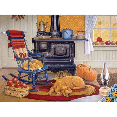 Harvest Kitchen 1000 Piece Jigsaw Puzzle