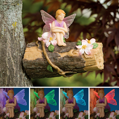 Color Changing Solar Fairy Tree Hanger